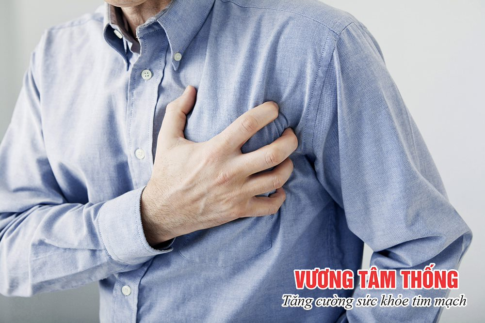 Co thắt mạch vành gây ra đau thắt ngực
